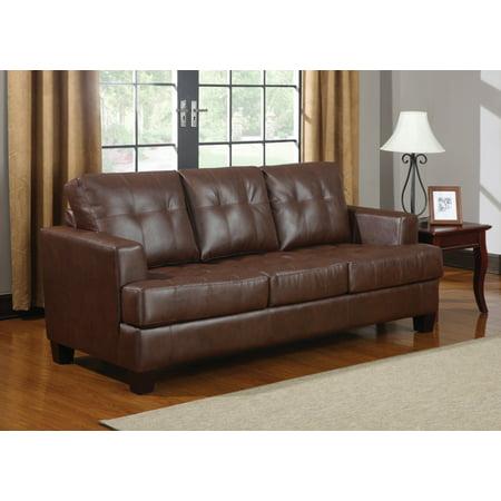 Superb Simple Relax Samuel Dark Brown Stationary Sofa Sleeper Unemploymentrelief Wooden Chair Designs For Living Room Unemploymentrelieforg
