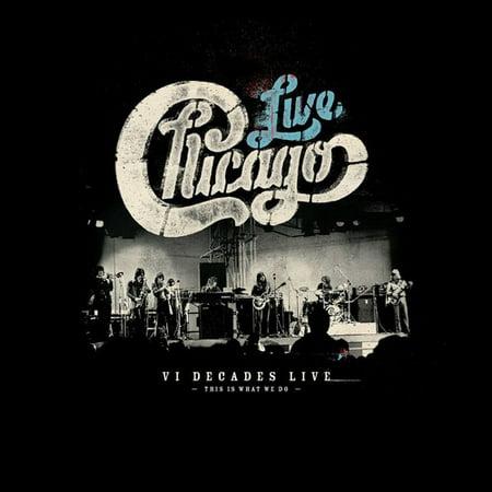 Chicago: VI Decades Live (CD) (Includes DVD)