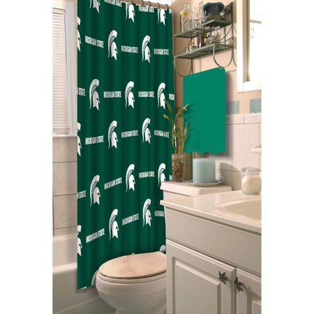 NCAA Michigan State Shower Curtain, 1 Each