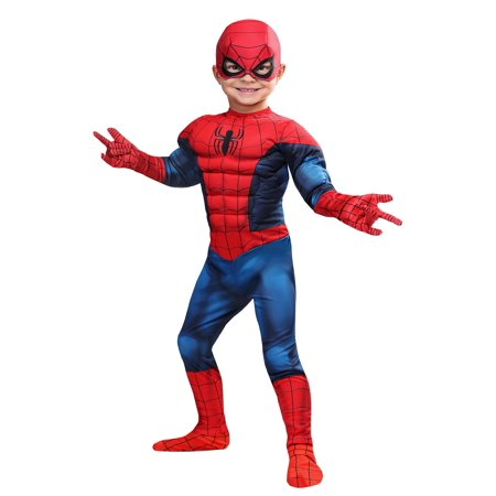 Marvel Spider-Man Toddler Costume (Toddler Spiderman Costume 3t)