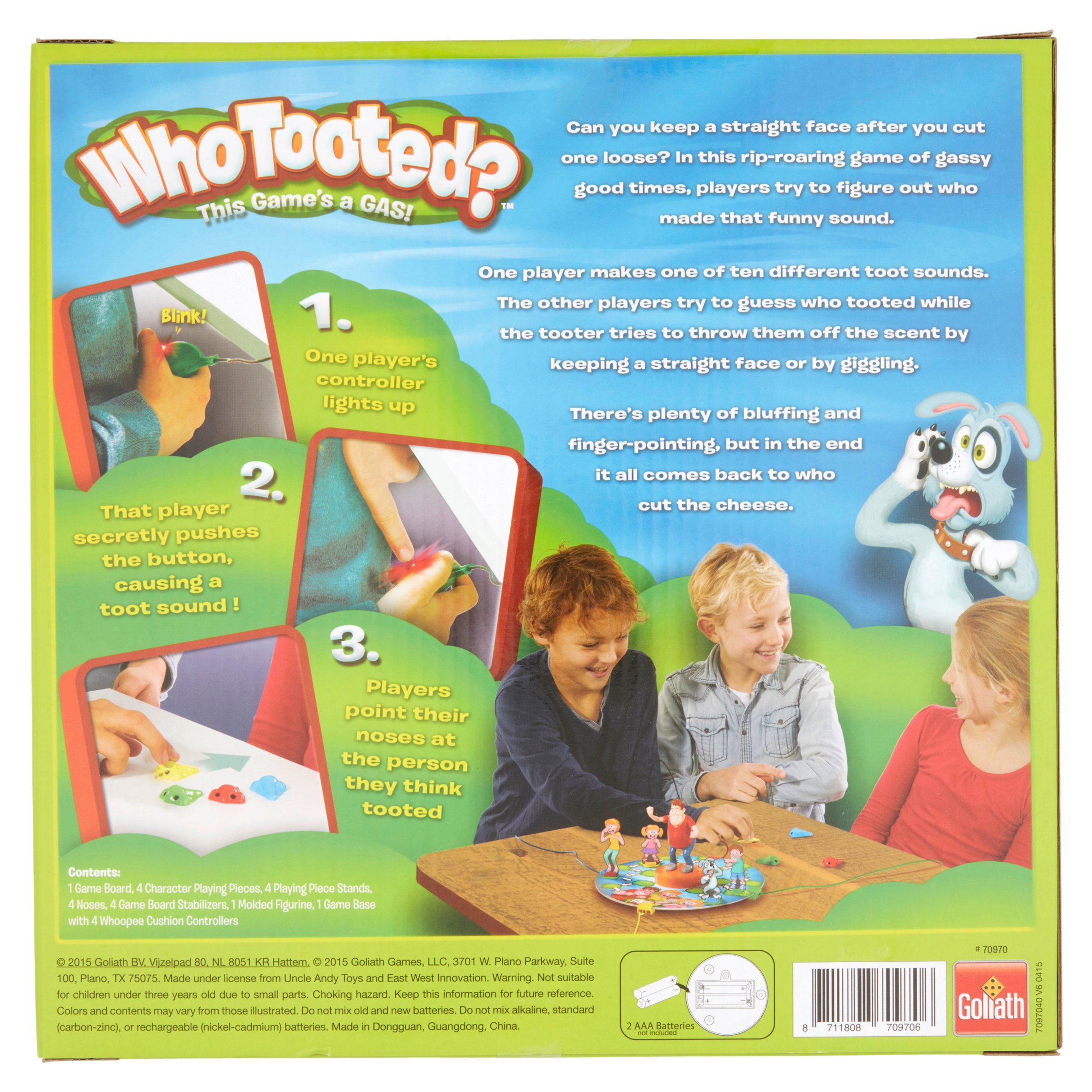 Goliath Whotooted? Board Game 5+