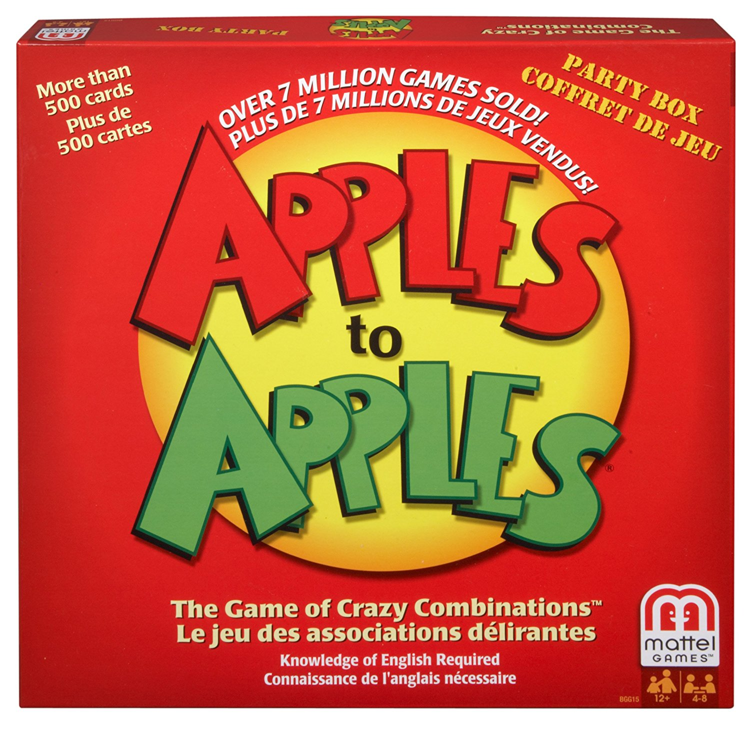 Apples to Apples Party in a Box Game retail_packaging, Brand Best Quality Warranty,From... by
