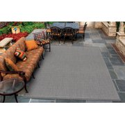 Couristan Recife Saddle Stitch Rug, Grey/White