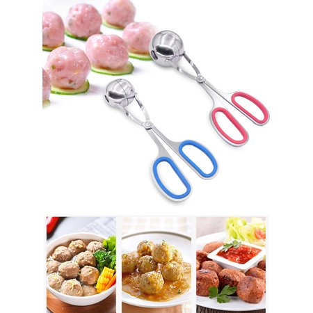 Kitchen Tongs,Kapmore Stainless Steel Anti-slip Meat Baller Meatball