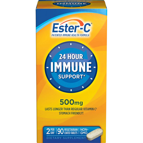 Ester-C 24 Hour Immune Support, 500 mg 90 ct