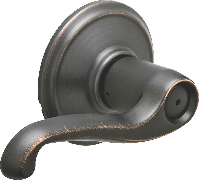 FLAIR PRIVACY LEVER AGE BRONZE