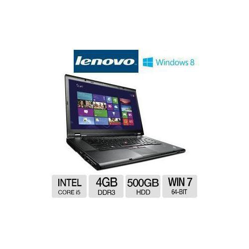 Refurbished Lenovo ThinkPad T530 Notebook PC - Intel Core i5-3520M 2.5GHz, 4GB DDR3, 500GB H