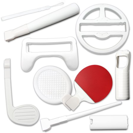 10-in-1 Sports Kit for Nintendo Wii (Kit Wii)