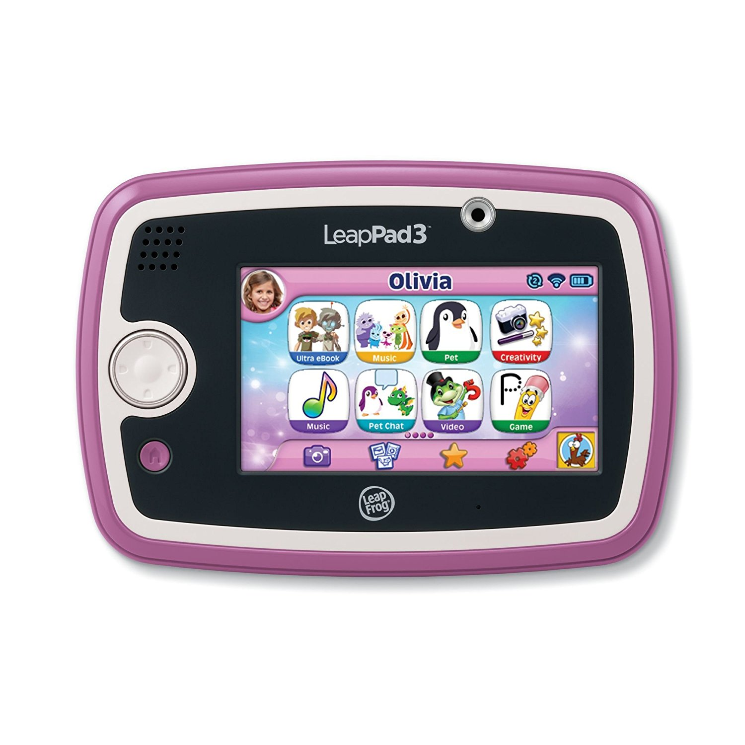 LeapFrog LeapPad3 Kids' Learning Tablet, Pink by