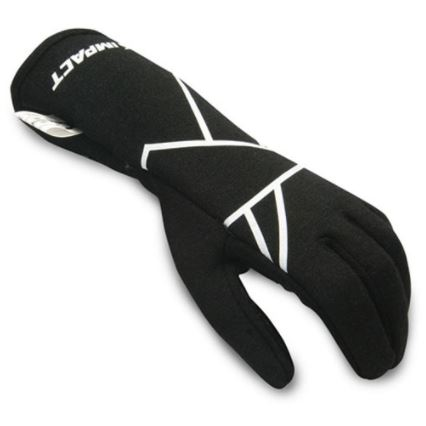 IMPACT RACING 38500610 Mini Axis Glove X-Large Black Youth