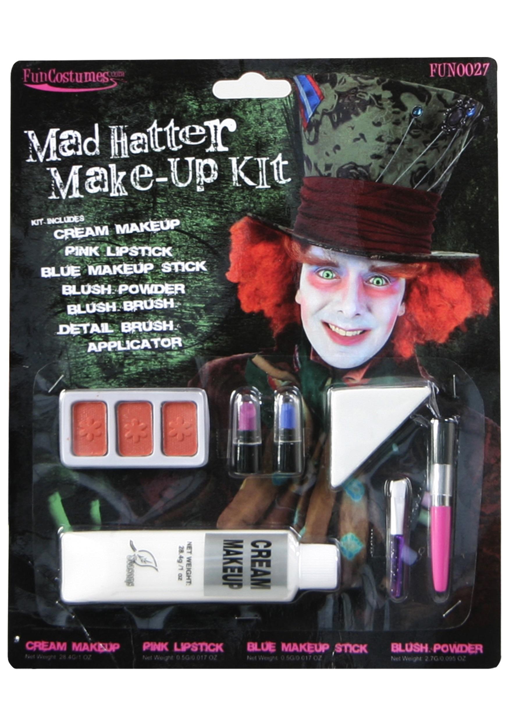 Mad Hatter Makeup Kit - Walmart.com