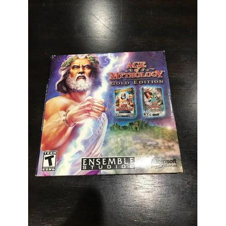 AGE OF MYTHOLOGY w/Titans Expansion (Gold