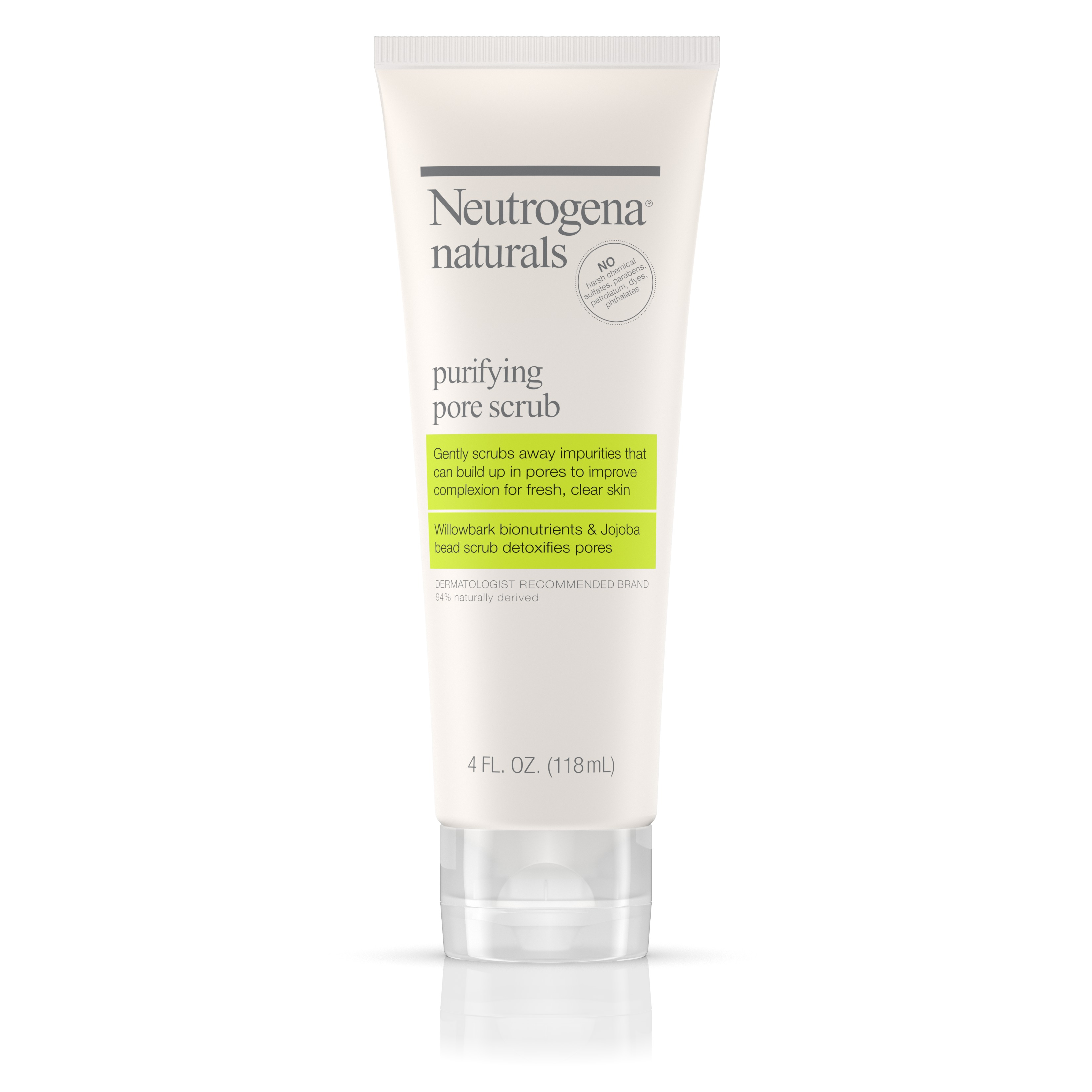 Neutrogena Naturals Purifying Pore Scrub, 4 Fl. Oz.