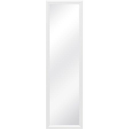 Mainstays 15x51 Over The Door White Mirror