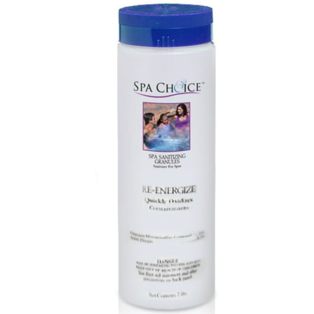 Spa Choice Re-Energize Non-Chlorine Shock for Spas and Hot Tubs, 2-Pounds