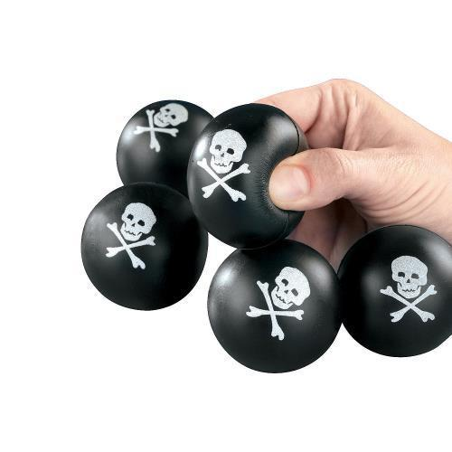 Oriental Trading Mini Skull And Crossbones Stress Balls 2...