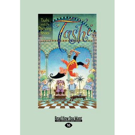 Tashi And The Dancing Shoes  Large Print 16Pt