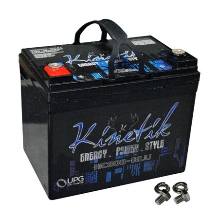 Kinetik 40922 HC BLU Series Battery Power Cells for the Ultimate Car Audio Experience (HC800, 800W, 35A-Hour Capacity, 12V)