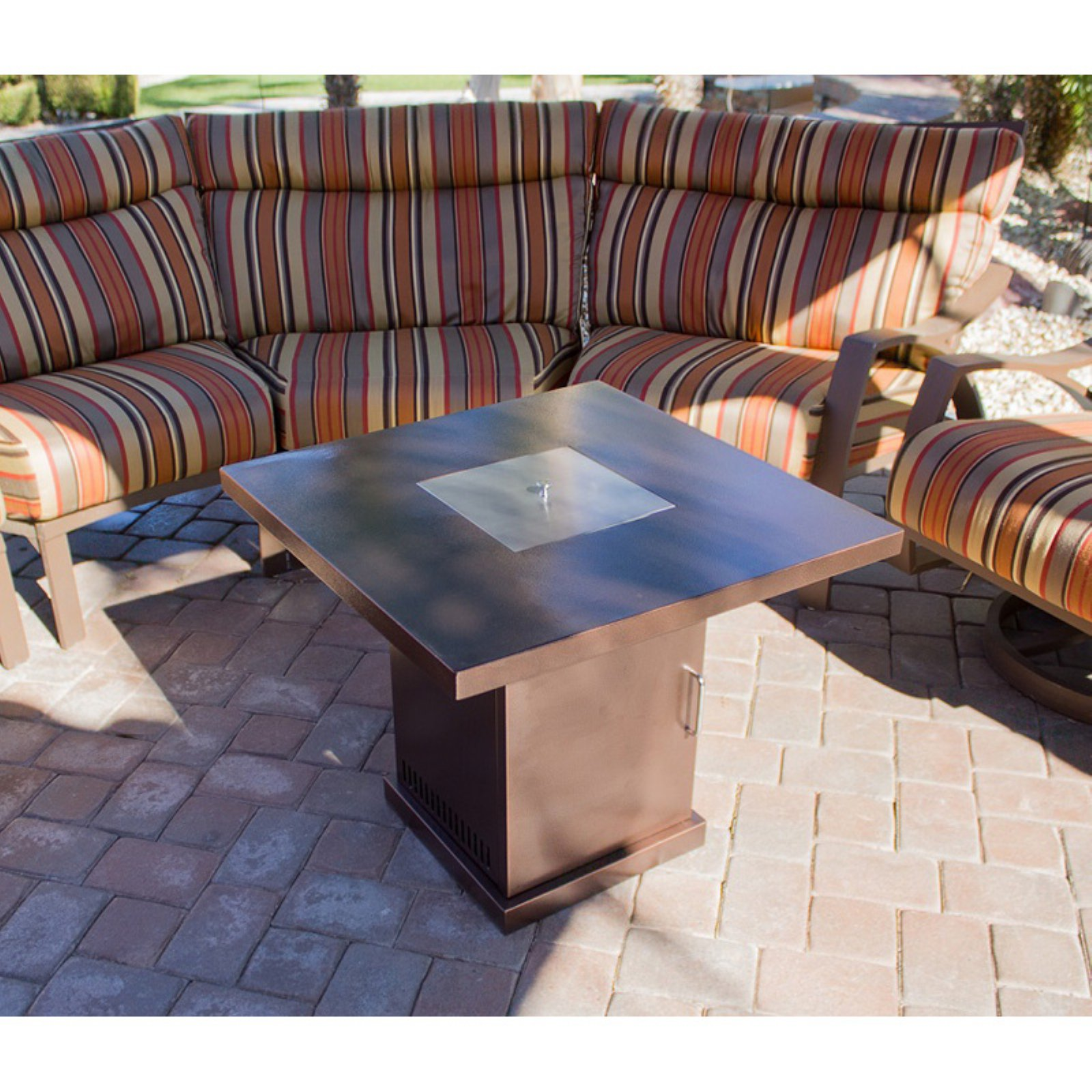 AZ Patio Heater Hiland Propane Gas Firepit by Overstock