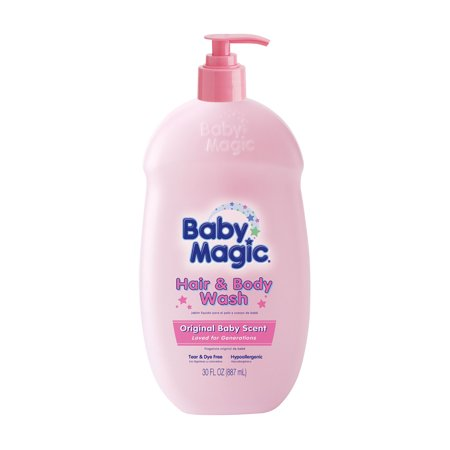 Baby Magic Hair & Body Wash, Original Baby Scent