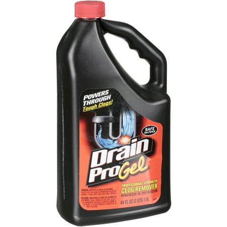 Drain Pro Gel Professional Strength Clog Remover 64 fl. oz. Bottle
