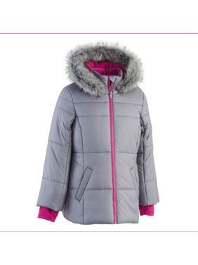 Calvin Klein Girls Jeans Hooded Puffer Jacket