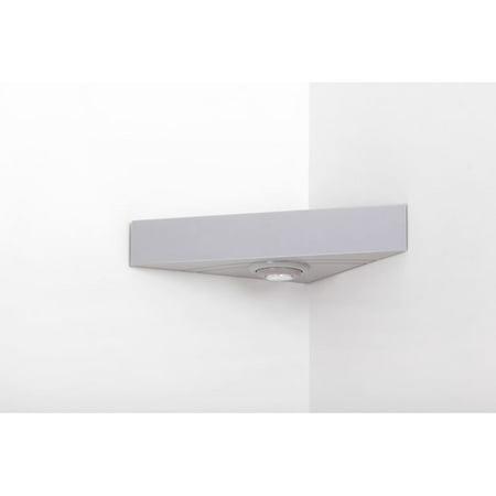 Magic Shelf Corner Floating Wall Shelf with LED - Indoor Led Shelf
