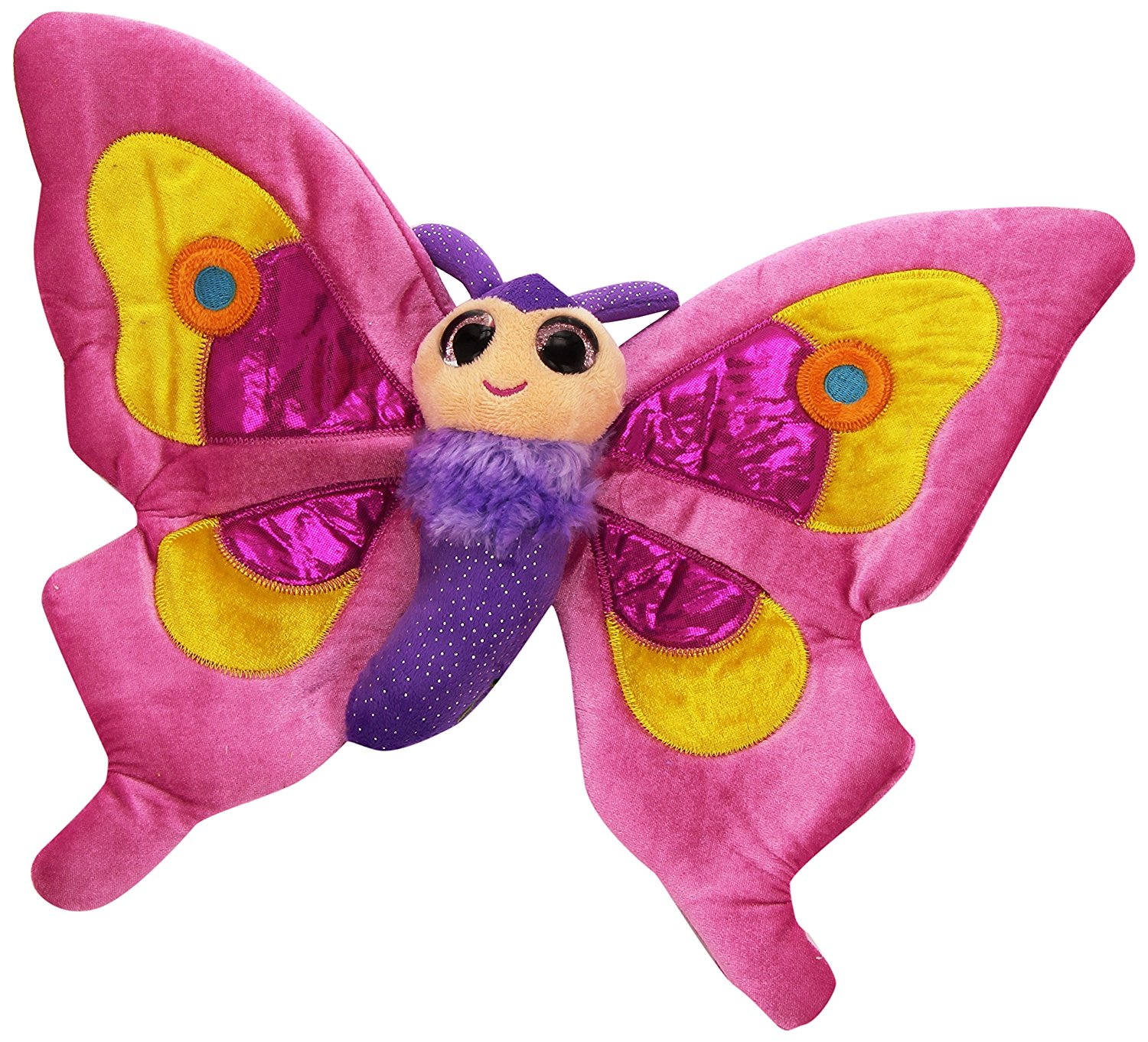 Sweet&sassy Butterfly Pink 38cm, Colourful Design By Sweet Sassy by