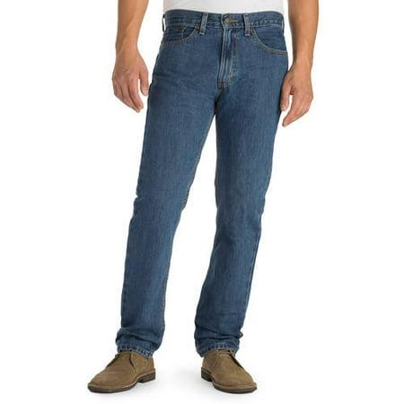 8d2e8dd0fc Signature by Levi Strauss   Co. - Men s Regular Fit Jeans - Walmart.com