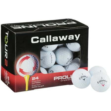 Callaway Tour 2 Proline Golf Balls, 24 Pack (Golf Two Ball)