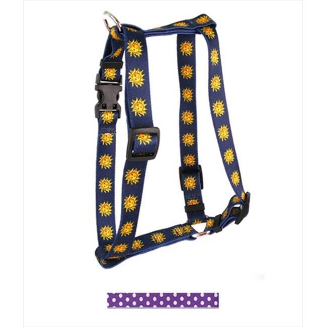 Yellow Dog Design New Polka Dot Roman Harness