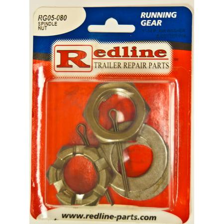 Spindle Nut Kit - One Redline Spindle Nut Kit RG05-080