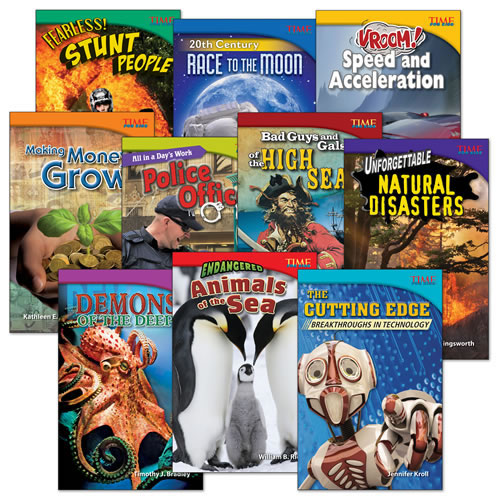 Time for Kids Informational Text Grade 5 Readers Set 1 10-Book Set (Time for Kids Nonfiction Readers)