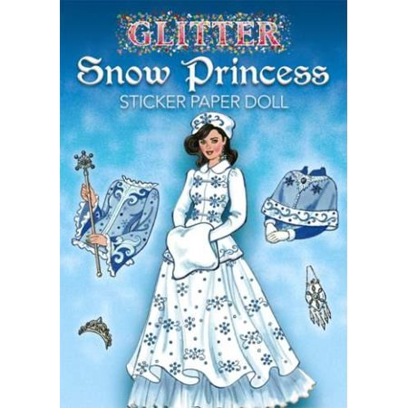Halloween Paper Dolls To Print (Glitter Snow Princess Sticker Paper)