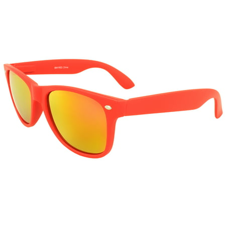 MLC Retro Horn Rimmed Sunglasses Red Edition