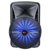 QFX PBX-118 Smart Speaker - 18'' Portable Bluetooth Party Speaker with Smart App Controls