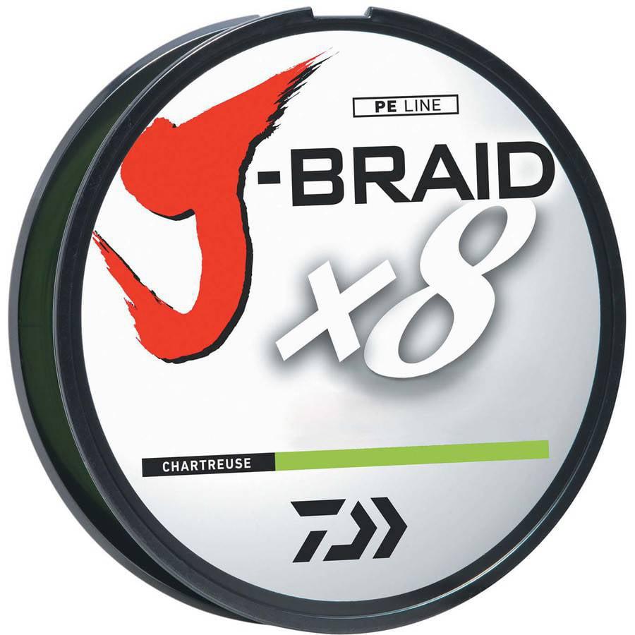 J-BRAIDX8 Braided Fishing Line by Daiwa
