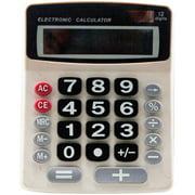 Sentry Jumbo-Key Desktop Calculator, White