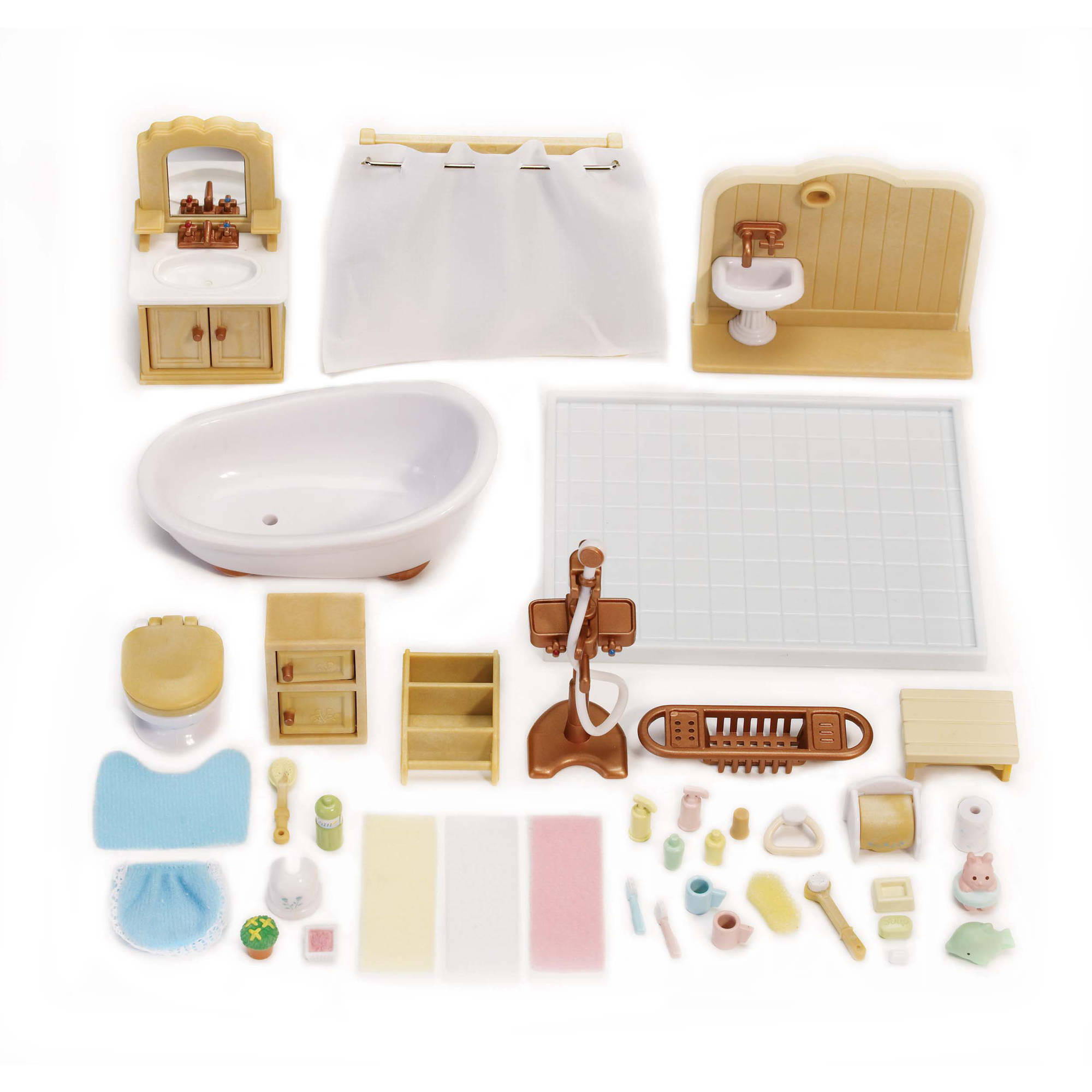 Calico Critters Deluxe Bathroom Set - Walmart.com