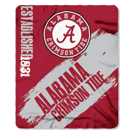 Alabama Crimson Tide Painted Fleece Throw](Alabama Crimson)