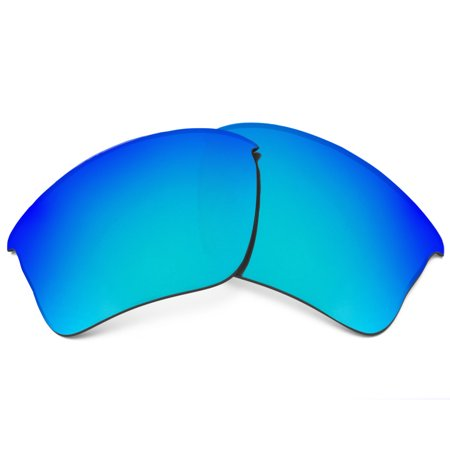 Replacement Lenses Compatible with OAKLEY Flak Jacket XLJ Polarized Blue (Oakley Beckon Replacement Lenses)