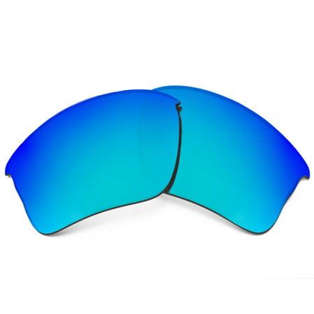 Replacement Lenses Compatible with OAKLEY Flak Jacket XLJ Polarized Blue (Flak Jacket Replacement Lenses)