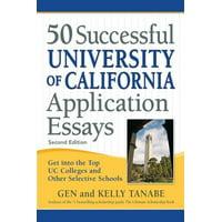 50 Successful University of California Application Essays - eBook