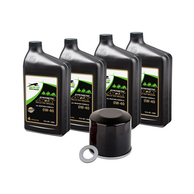 Oil Change Kit With Textron ACX Synthetic 0W-40