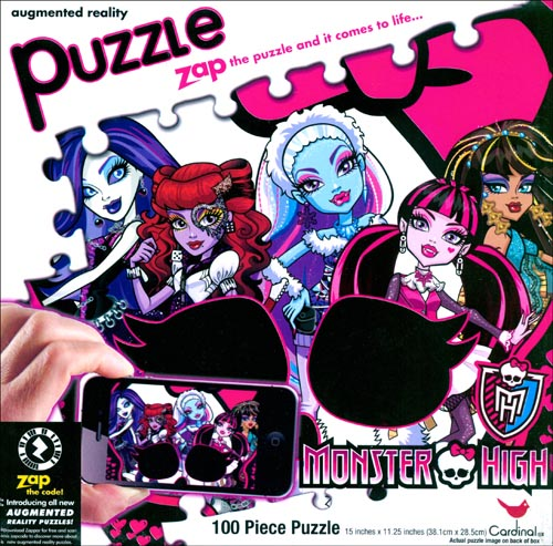 Monster High 100 Piece Puzzle,  Animated Movies by Cardinal