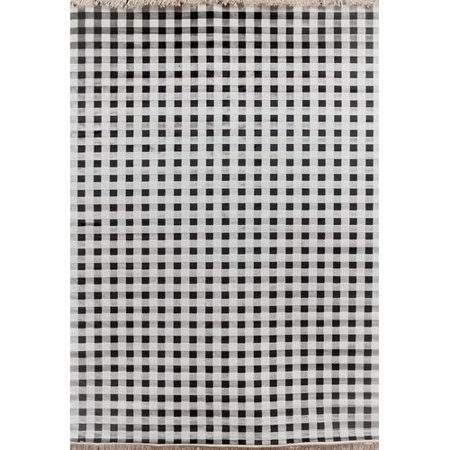 Image of Wildon Home Sonoma Ivory/Charcoal Area Rug
