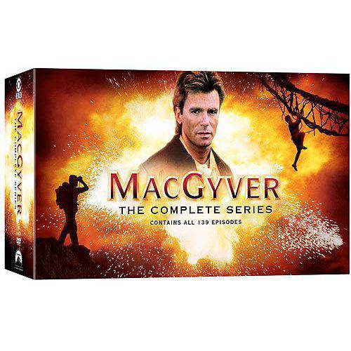 MacGyver: The Complete Series (Full Frame)