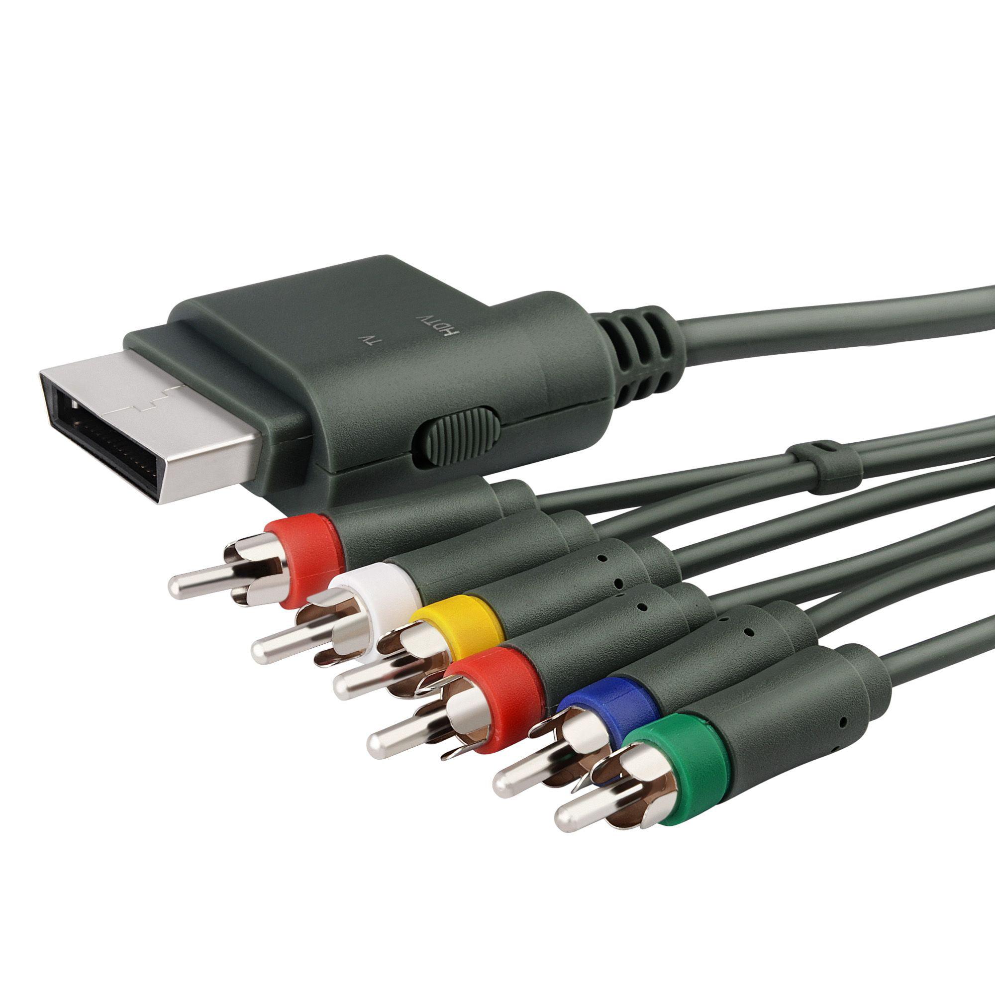 Insten Premium Component HD AV Cable For Microsoft Xbox 360 / Xbox 360 Slim