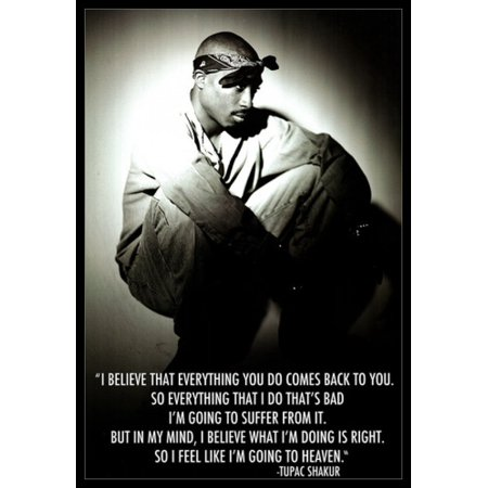 Believe Poster Print - Tupac Quote I Believe Poster Poster Print