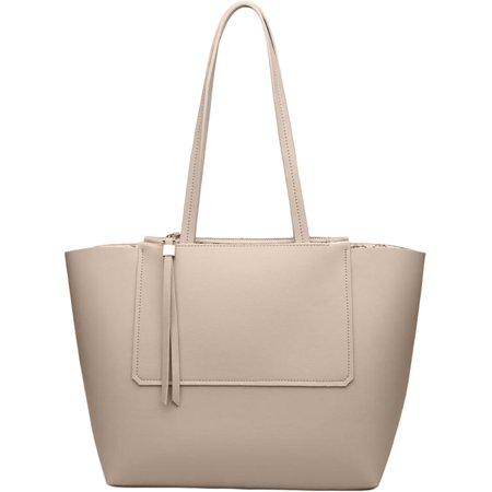 Urban Expressions Womens Apollo Vegan Leather Per Tote Handbag